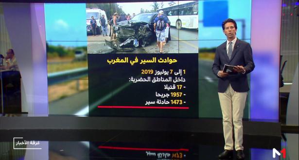 شاشة تفاعلية .. أرقام ومعطيات حول حوادث السير بالمغرب