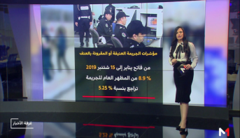 شاشة تفاعلية .. مؤشرات حول محاربة الجريمة بالمناطق الحضرية