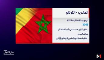 كرونولوجيا الاتفاقيات الموقعة بين المغرب والكونغو