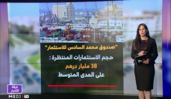 شاشة تفاعلية .. صندوق محمد السادس للاستثمار دعامة أساسية للإنعاش الاقتصادي