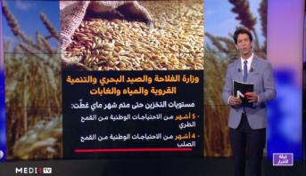 شاشة تفاعلية.. تفاصيل موسم الحبوب بالمغرب