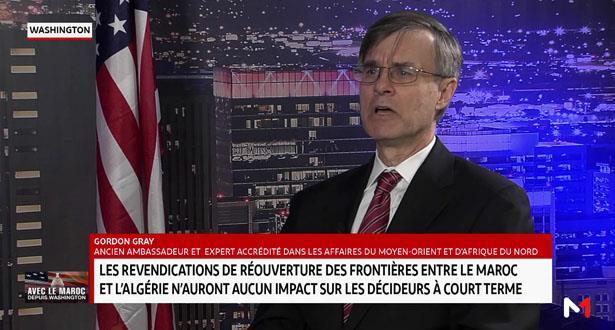 Gordon Gray: Le gouvernement et le peuple algérien sont préoccupés par la situation en Algérie