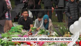 Nouvelle-Zélande .. Hommages aux victimes