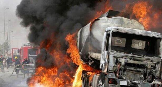 نيجيريا: مصرع 12 شخصا وإصابة 22 آخرين في حادث انفجار ناقلة نفط