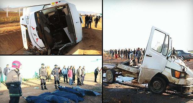 Nador: 8 morts et une dizaine de blessés dans une terrible collision