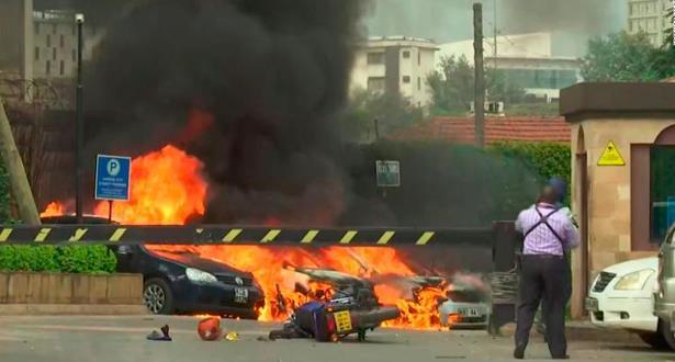 Attentat de Nairobi: Quatre employés de l'hôtel DusitD2 tués et 3 autres blessés (DG)