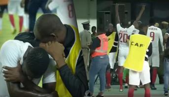 فيديو لحظات دراماتيكية .. ناميبيا من دموع هزيمة ثقيلة إلى فرحة تأهل تاريخي