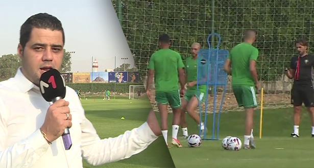 كواليس الحصة التدريبية الأولى للأسود في القاهرة بكاميرا ميدي1تيفي .. مستجدات وغيابات
