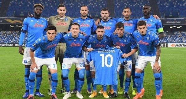 نابولي يواجه روما بقميص الأرجنتين تكريما لأسطورته مارادونا