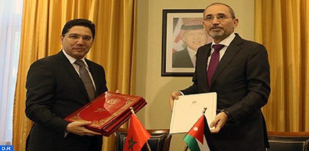 Maroc-Jordanie : Signature à Amman d'une convention de coopération et de deux mémorandums d'entente