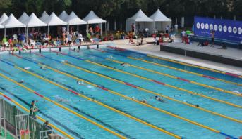 سعيد ناصر يمنح المغرب الميدالية الفضية في بطولة إفريقيا للسباحة