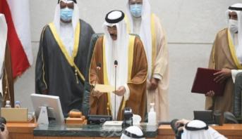 الشيخ نواف الأحمد الجابر الصباح يؤدي اليمين الدستورية أميرا لدولة الكويت