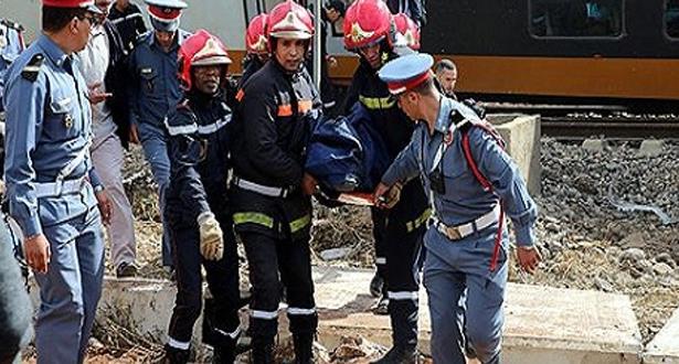 المدير الجهوي للصحة : سبع حالات وفاة في حادث انحراف قطار ببوقنادل