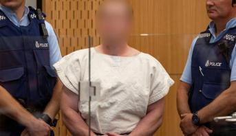 """نيوزيلندا .. إدارة السجون تقدم اعتذارها بعد ارسال مرتكب مجزرة """"كرايست تشيرش"""" رسالة كراهية"""