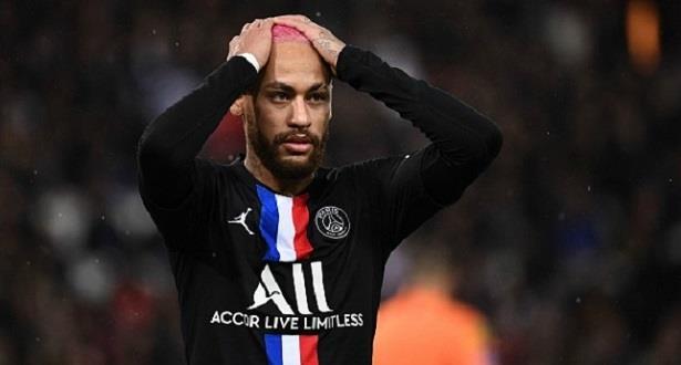 إيقاف نيمار عن المشاركة في نهائي كأس فرنسا