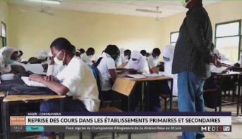 Niger: reprise des cours dans les établissements primaires et secondaires