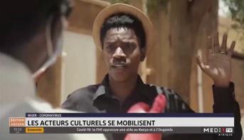 Niger: les acteurs culturels se mobilisent contre le coronavirus
