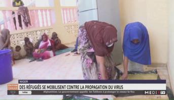 Niger: des réfugiés se mobilisent contre la propagation du virus