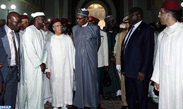Le Président nigérian visite l'Institut Mohammed VI pour la formation des Imams Morchidines et Morchidate