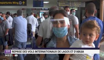 Nigeria: reprise des vols internationaux de Lagos et d'Abuja