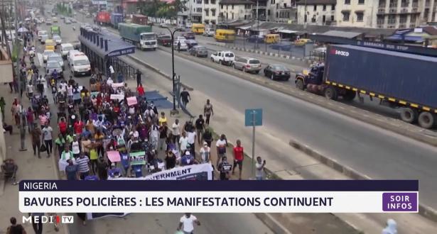 Bavures policières : les manifestations continuent Au Nigéria