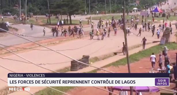 Nigeria: les forces de sécurité reprennent le contrôle de Lagos