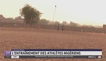 Coronavirus: l'entraînement des athlètes nigériens