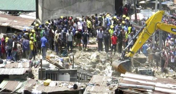 نيحيريا .. مقتل 13 شخصا في انهيار مبنى من ثلاثة طوابق