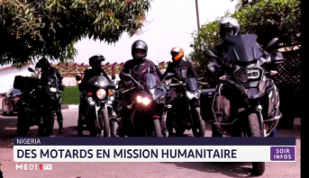 Nigeria: des motards en mission humanitaire