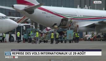 Nigéria : Reprise des vols internationaux le 29 Août