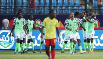 CAN-2019: le Nigéria dompte les Lions camerounais et file en quarts