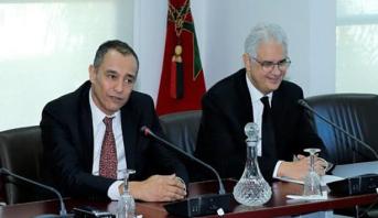 تسليم السلط بين نزار بركة وأحمد رضى الشامي، الرئيس الجديد للمجلس الاقتصادي والاجتماعي والبيئي