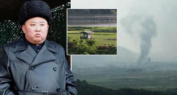 كوريا الشمالية تفجر مكتب الاتصال المشترك على الحدود