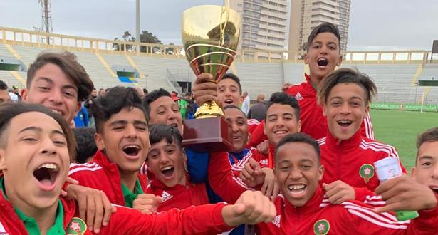 المنتخب الوطني المغربي لأقل من 15 سنة يفوز بكأس شمال إفريقيا