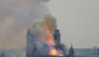 Incendie de Notre-Dame: la piste de l'accident privilégiée