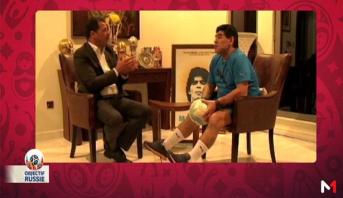 Objectif Russie > Interview avec Diego Maradona & Focus sur l'équipe de l'Argentine