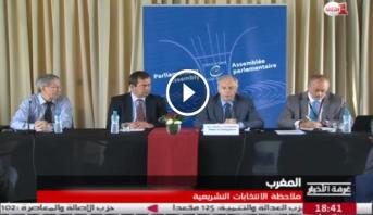 فيديو ..الملاحظة الدولية لانتخابات التشريعية 7 أكتوبر