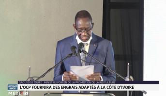 Filière rizicole: l'OCP fournira des engrais adaptés à la Côte d'Ivoire