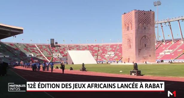 Rabat: Lancement de la 12ème édition des jeux africains