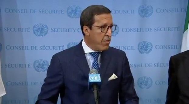 عمر هلال يعلن بالأمم المتحدة عن القرار الملكي المتعلق بالتكفل بالدول الجزرية خلال مؤتمر (كوب 22)