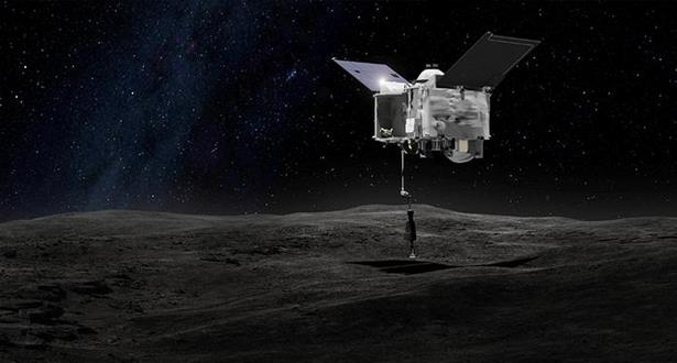 """المسبار الأمريكي """"أوسايرس-ريكس"""" هبط على سطح الكويكب بينو"""