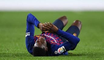 FC Barcelone: six mois d'absence pour Ousmane Dembélé