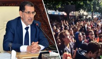 العثماني يعلق على احتجاجات التلاميذ على الساعة القانونية ويصفها بالعفوية