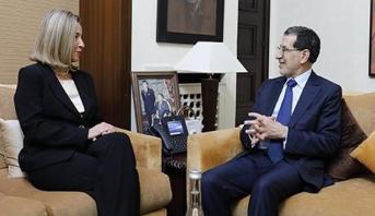 العثماني وموغيريني يشيدان بالآفاق الواعدة للشراكة المغربية- الأوروبية