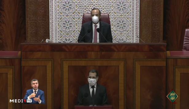 العثماني: حالة الطوارئ الصحية إطار قانوني يمَكن الحكومة من اتخاذ قرارات منها الحجر الصحي