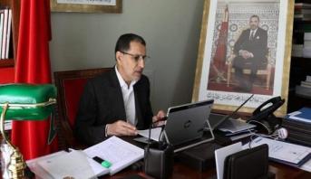 رئيس الحكومة يدعو المركزيات النقابية للإسهام في تقديم مقترحاتها لتجاوز تداعيات جائحة كورونا