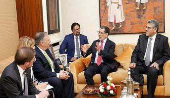 رئيس الحكومة يتباحث بالرباط مع وزير الخارجية الأمريكي مايك بومبيو