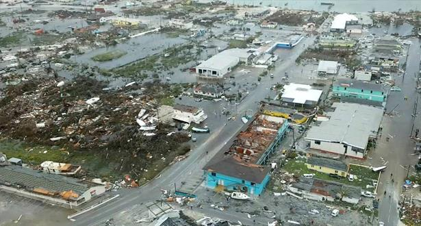 2500 مفقودا في الباهاماس بعد الإعصار دوريان