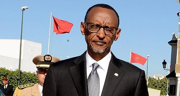 الرئيس الرواندي بول كاغامي يحل بالمغرب