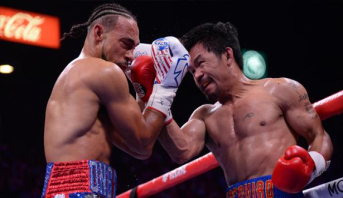 """الملاكم الفلبيني باكياو يدخل التاريخ كأكبر بطل للعالم لوزن """"الويلتر"""""""